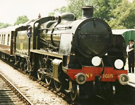Bluebell Railway - Locomotives on Static Display
