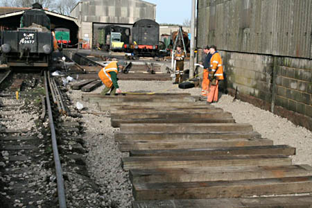 P-Way work at Sheffield Park - 26 January 2008 - Jon Bowers