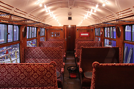 Retrimmed interior of 1482 - Dave Clarke - 25 November 2018
