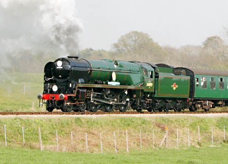 Sir Archibald Sinclair on 300 Club members train - 21 April 2009 - Andrew Strongitharm