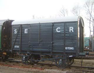 SECR Van