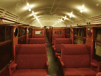 Interior of the saloon of 2526 - 29 August 2009 - Richard Salmon
