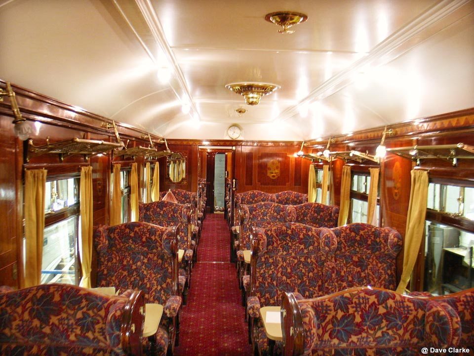 Bluebell Railway C Amp W Works News Pullman Car 64