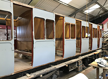 328 in carriage works - Richard Salmon - 6 June 2021