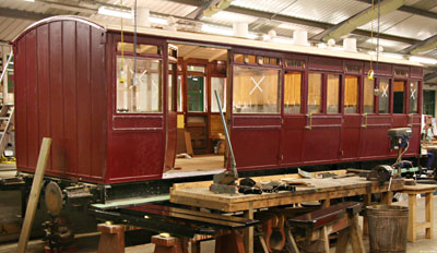 General view of carriage 3360 - Dave Clarke - 23 January 2011