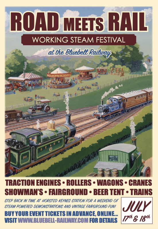 Road meets Rail event, 17–18 July
