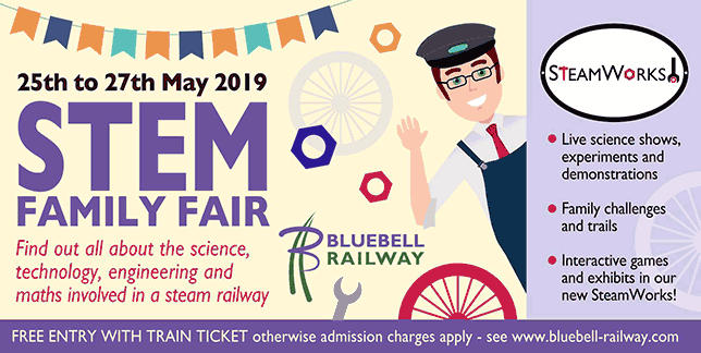 STEM Family Fair - 25-27 May 2019