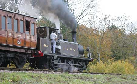 662 on photo charter - 14 November 2006 - Tony Pearce