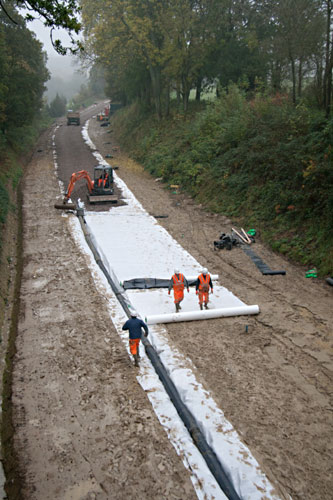 Tracklaying from the north - John Sandys - 23 October 2012