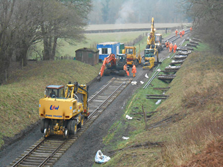 Railhead at lunchtime - Brian Kidman - 22 January 2020