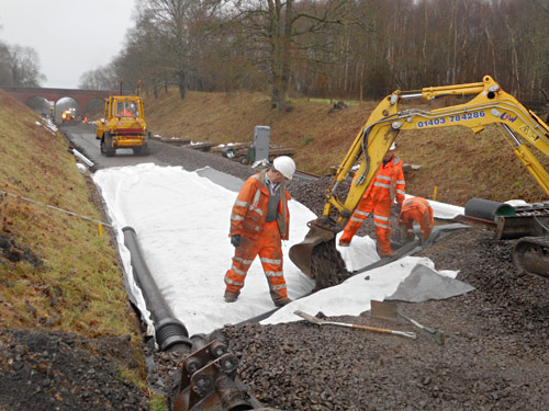 First cross-drain - Jon Goff - 10 January 2020