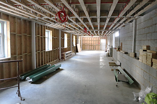 Interior of the ground floor of the HSC - Barry Luck - 17 January 2020