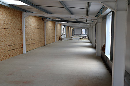 Interior of first floor of HSC - Barry Luck - 17 January 2020