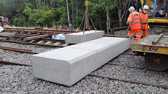 Sill sections ready for loading - Bruce Healey - 15 July 2020