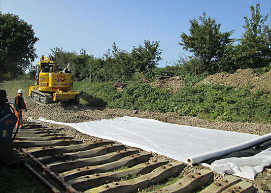Relaying track - October 2020