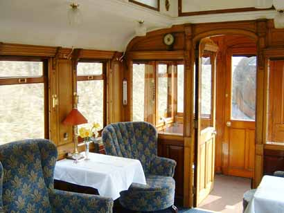 Interior of GNR Directors' Saloon