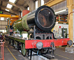 B473 in the Loco Works - 23 August 2009 - Derek Hayward