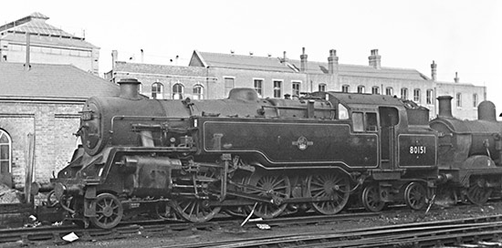 80151 at Brighton - Charlie Verrall - 2 September 1962