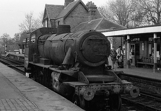 78059 shortly after arrival at Sheffield Park - Tony Sullivan