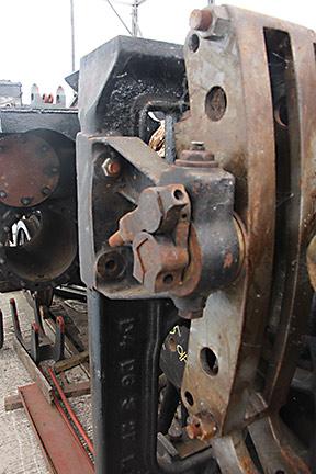 Trial fitting of reversing gear - Tony Sullivan - 28 May 2021