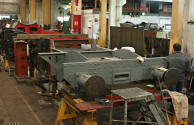 84030 frames welded up - Tony Sullivan - 20 Dec 2011