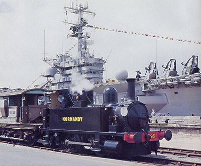 Normandy at Southampton Docks - Mike Esau - 3 June 1994