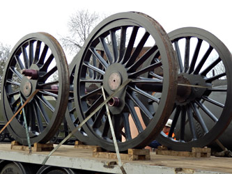 Atlantic wheelsets arrived - Fred Bailey - 6 March 2013