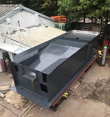 Top of tank - D G Welding - 26 June 2019