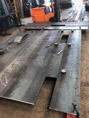 Tender baseplate - D G Welding - May 2019