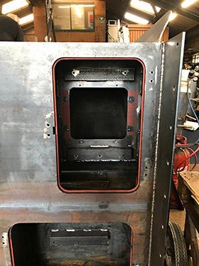 Driver side cabinets - D G Welding - 17 June 2019