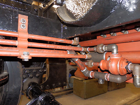 Pipework under the tender - Fred Bailey - 23 December 2018