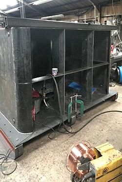 Tender from rear - D G Welding - 19 June 2019