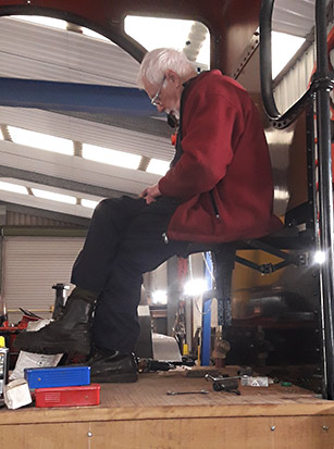 Fireman's seat - Fred Bailey - 27 February 2020
