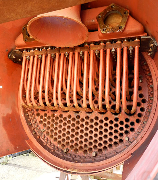 Superheater elements installed - Fred Bailey - 22 October 2020