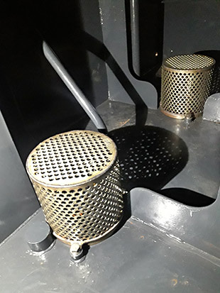 Tank strainers installed - Fred Bailey - 30 January 2020