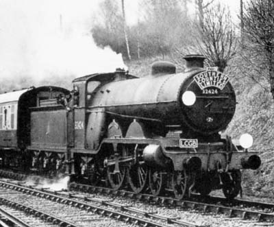 Atlantic Beachy Head at Horsted Keynes, February 1957