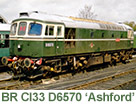 Class 33 D6570 'Ashford'