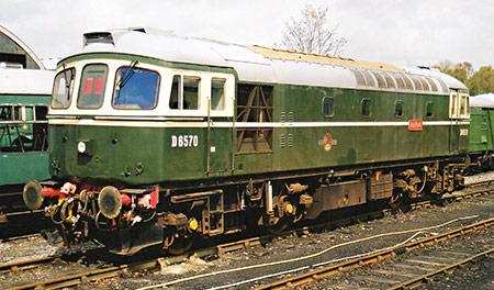 D6570 'Ashford' at Tenterden - Jonathan Horrocks - April 2000
