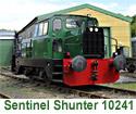 Sentinel Shunter 10241