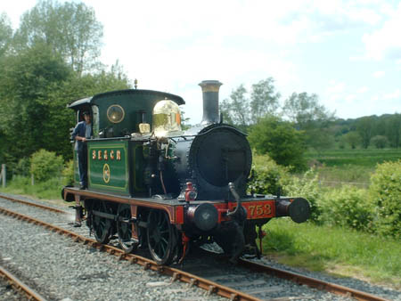 No.753 at the KESR - Andrew Strongitharm - 8 May 2005