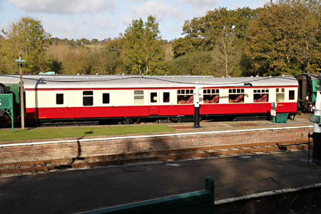 Recently arrived BSK 34556 at Horsted Keynes - Andrew Strongitharm - October 2012