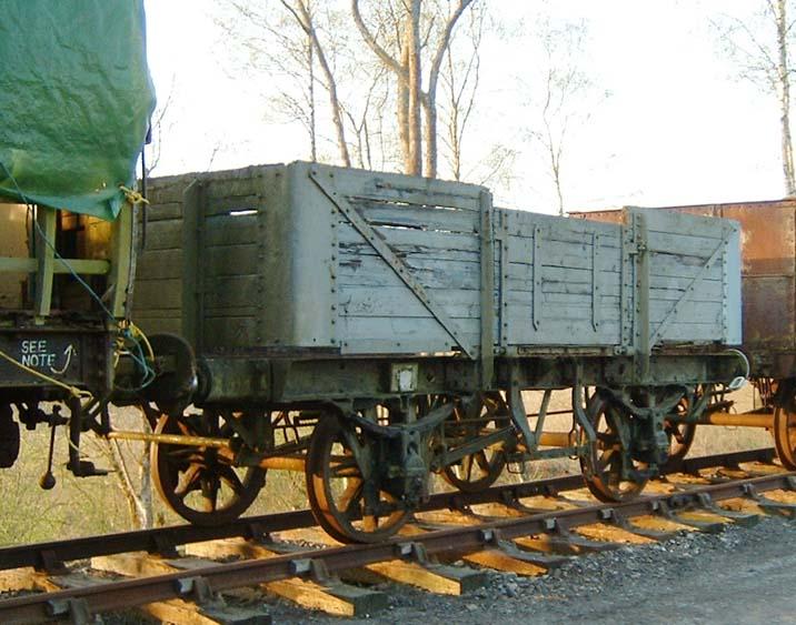 Bluebell Railway wagons - Great Western Railway 5-plank open