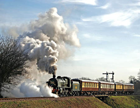 1638 with the Golden Arrow - 1 December 2009 - Derek Hayward
