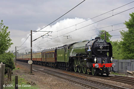 Tornado on its 'Top Gear' run - 25 April 2009 - Tim Easter