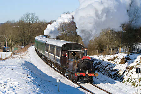 Fenchurch on a Santa Special -  20 December 2009 - David Warwick