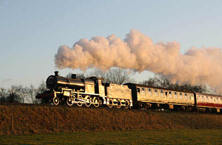 7F on a Santa Special - 6 December 2008 - Andrew Strongitharm