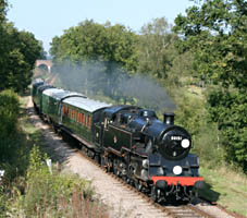 80151 on the 2.16pm coming south from Horsted Keynes - 27 September 2009 - Andrew Strongitharm