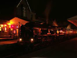 34059 with Pullman Cars - 12 December 2009 - Mike Lee