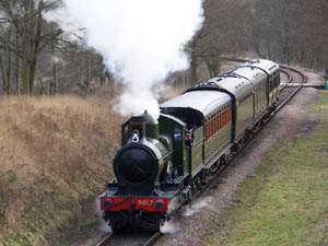 9017 near Horsted House Farm - Peter Austin - 16 Feb 2009