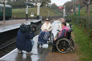 Filming for the People's Millions ITV Meridian appeal - 11 November 2009 - Tony Sullivan
